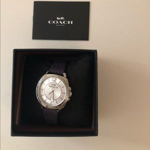 Brand new with tags coach watch